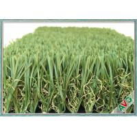 China Soft / Comfortable Feeling Landscaping Artificial Grass 12800 Dtex Fireproof on sale