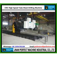 CNC High Speed Drilling Machine for Tube Sheet heat exchanger pressure vessel China Top Supplier Manufactures