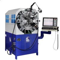 Spring Wire Diameter 0.3 - 2.5mm Twelve Axes Cam-Less CNC Spring Forming Machine Manufactures