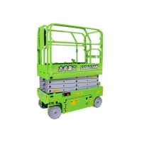Small 13ft Electric man Lift with load capacity 240kg for indoor maintenance Manufactures