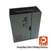 Quality Red Recycled Luxury Gift Boxes , Tea Packaging Custom Printed Cardboard Boxes for sale
