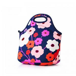 Flower Printing Waterproof Neoprene Bento Cooler Bag Manufactures