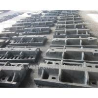 Ni-hard Cast Iron Sag Mill Liners , Heat Resistant Aluminum Sand Castings HRC53 Manufactures