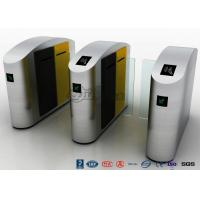 High Speed Turnstile Access Control System Entrance Security Solutions Soft Flapper Manufactures