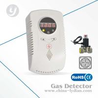 LCD Display House Gas Detector Alarm With 1.5w 240V Catalytic Gas Sensor Manufactures