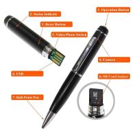 cheap spy camera pen wholesale high quality spy camera pen  hidden micro camera mini dv dvr video camera made in china Manufactures