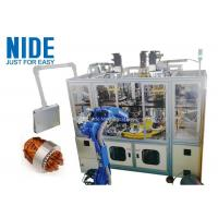 Air Conditioner Stator Winding Inserting Machine 4 Working Station 380v 50 / 60hz Manufactures