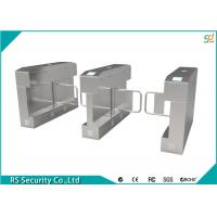 Stainless Steel Turnstile Security Systems Mess Hall Barrier Swing Turnstiles Manufactures