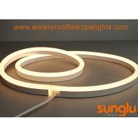 2835 80D Flexible LED Neon Rope Light Warm White WW 4.8 Watt For Advertisement Lighting Manufactures