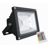 China 3000K - 6500K Waterproof LED Flood Light , Outdoor RGB Remote Control LED Light on sale