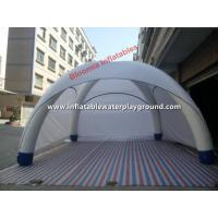 White Dome Inflatable Spider Tent With Oxford Cloth Cover , 8m Diameter Manufactures