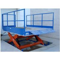 6T Hydraulic Cargo Lift Table For Lifting 1.85m With 0.5 Minimum Height Manufactures