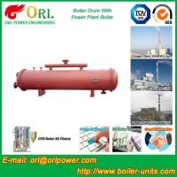 Bucket central heating boiler mud drum ISO9001 Manufactures