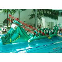 Inflatable Park Aquatic Inflatable Aqua Park Inflatable Water Obstacle Course For Kids Manufactures