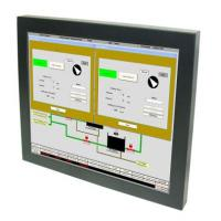 China 12.1-inch LCD Monitor with Resistive Touch, Remote Control 4:3 for Industrial Control Application on sale