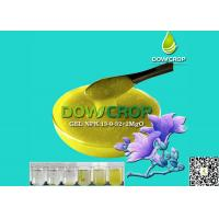 DOWCROP HIGH QUALITY 100% WATER SOLUBLE GEL NPK 13-9-32+2MgO+1.9S SUSPENSION YELLOW LIQUID WITH AMINO ACID & HUMIC ACID Manufactures