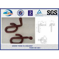 Pandrol clip GL1419 60Si2Mn Baking Finish Red Paint 0.5kg per Unit Manufactures