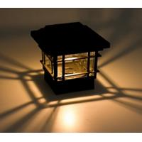 ECO Friendly Solar Post Cap Lamp 150 Lumens Quick Installation For Garden Yard Manufactures