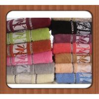 100% pure linen solid color kitchen hand towel with hemstitch for wholesale Manufactures