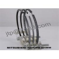 ME997240 Car / Truck / Generator Parts Engine Piston Rings For 4D34 Manufactures