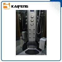 Quality Luxury Modular Steam Shower Tub Combo Spa Shower Units Sliding Open Style for sale