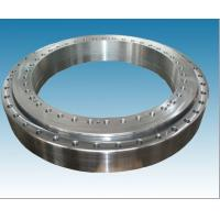 Ball slewing bearing with flange rings , external / internal / no gear slewing ring bearing Manufactures