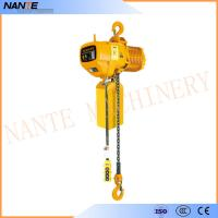 Industrial Electric Chain Hoist for Crane / Travelling Type / Fixed Type Electric Hoist Manufactures