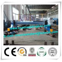 Plate Cnc Plasma Cutting Machine For Flame / H Beam Steel Production Line Manufactures