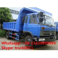 Cummins 190hp dongfeng brand 10tons dump truck for sale, factory sale best price dongfeng 153 LHD 4*2 dump tipper truck Manufactures