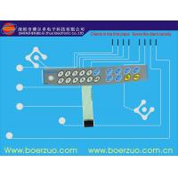 Metal Dome Tactile Membrane Switch , Female Connector 3M Adhesive Manufactures