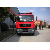 Six Seats Water Tanker Fire Truck Pump Flow 60L/S Aluminum Water Tank 5684L Manufactures