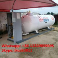 factory direct sale best quality CLW brand 3.2metric tons mobile skid lpg gas filling plant for refilling gas cylinders Manufactures