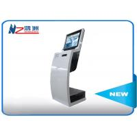 Multitouch Digital Library Self Checkout Machines / Touch Screen Information Kiosk Manufactures