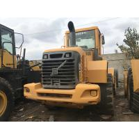 Volvo L70E Wheel Used CAT Loaders D6D Engine 12890KG Operating Weight Manufactures
