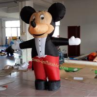 Inflatable mickey mouse carton character Manufactures