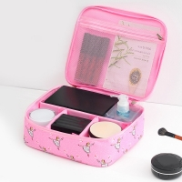 Portable Biodegradable Large Travel Toiletry Cosmetic Bag Manufactures