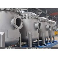 China Quick Open Stainless Steel Filter Housing , Water Filter Housing For Waste Water on sale
