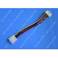 Quality Hard Drive HDD SSD Cable Harness Assembly , Molex to Dual SATA Power Splitter Cable for sale