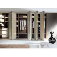 Walk In Closet Customized Wardrobe Furniture With Accessories Manufactures