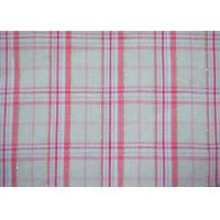 Luxury Shiny Gold Thread Yarn Dyed Plaid Fabric Bright Colored Printing Manufactures