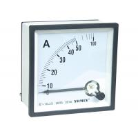 Mini Size Electrical AC Measuring Analogue Panel Meters Ammeter 96 * 96 5 - 100A Class 1.5 Manufactures