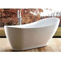 5 Foot Ultra Acrylic Free Standing Bathtub Antique Style 1800 X 850 X 790MM Manufactures