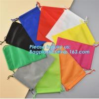 China Wholesale Promotion Portable Gift Small Non Woven Drawstring Bag, Non woven drawstring pocket shoes bag , Clothes bag ,f on sale
