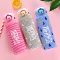 L75*H175mm Knitted Fabric Insulated Bottle Sleeve Manufactures