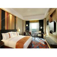 Professional Wooden Standard Hotel Bedroom Furniture Sets with Lobby Manufactures