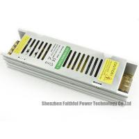 Narrow Slim LED Light Power Supply 12v 150w With CE / ROHS Certificate Manufactures
