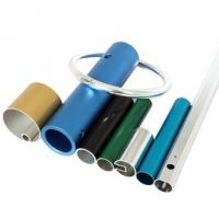 Quality Powder Coated Anodized Aluminum Extruded Tubing / Aluminum Round Tubing With CNC Machining for sale