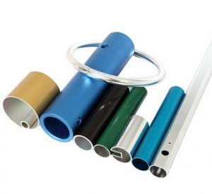 Powder Coated Anodized Aluminum Extruded Tubing / Aluminum Round Tubing With CNC Machining Manufactures