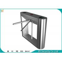 Heigh Security Tripod Turnstile Gate With Fingerprint Reader Access Entrance Manufactures