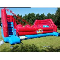 wipeout inflatable obstacle course Manufactures